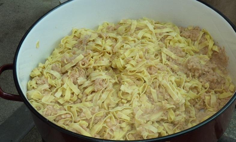 Babos tészta