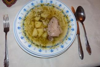 Hagyományos sváb receptek - eleki becsinált leves